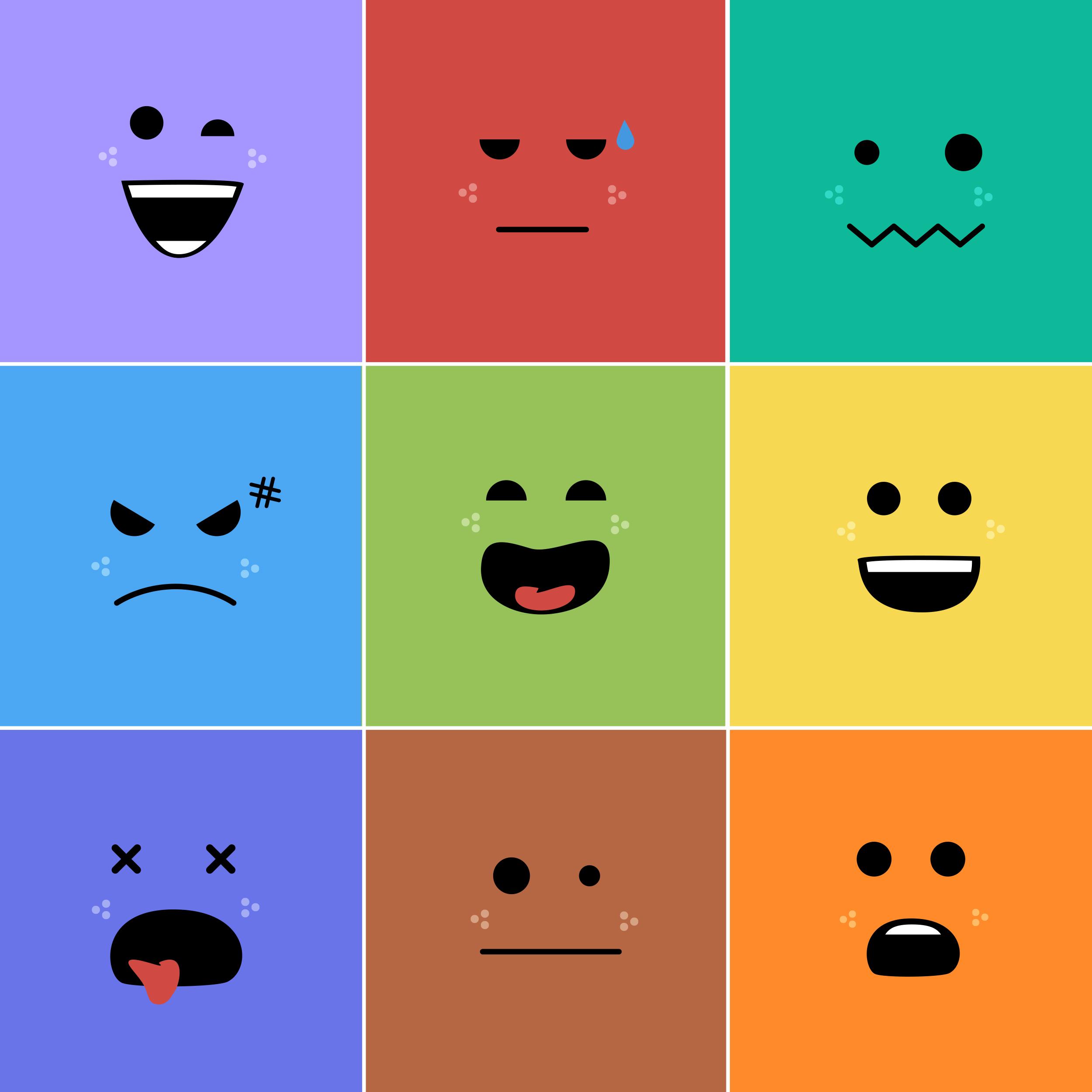 感情ボタンイメージ