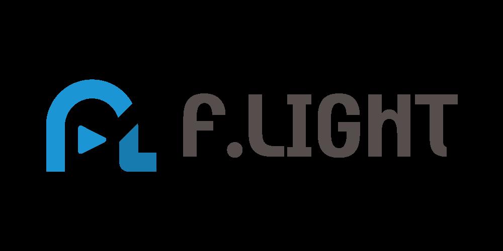 2016年リニューアルのF.LIGHTロゴ