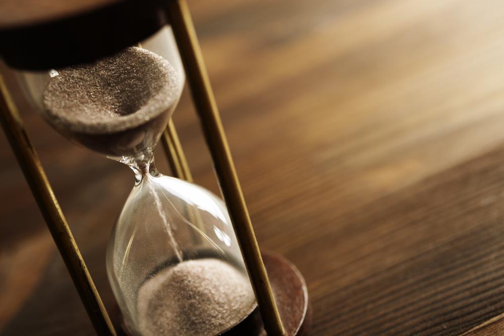 3分を測る砂時計